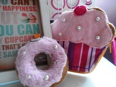 Cupcake monedero ♥