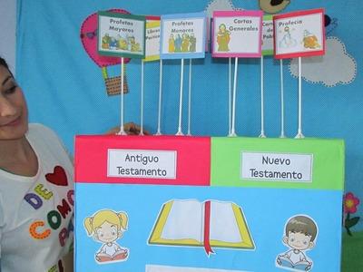 Idea juego bíblico - Clasificación libros de la Biblia-