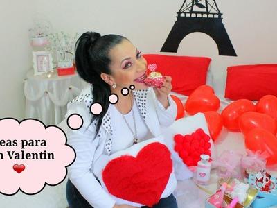 Ideas económicas para San Valentin ❤