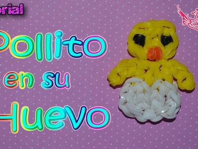 ♥ Tutorial: Pollito en un huevito de gomitas (Sin Telar)| Only Hook ♥