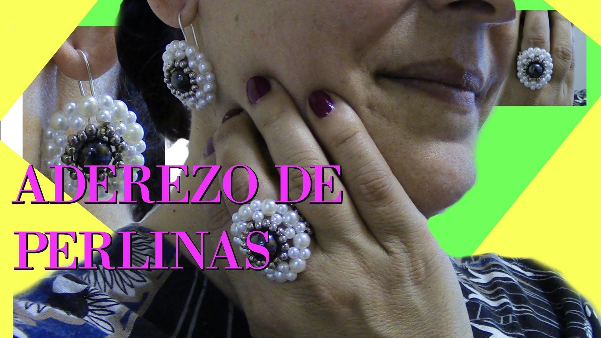 ADEREZO DE PERLINAS Y HEMATITES:DIY