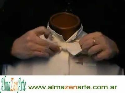 AlmaZenArte - ESPACIO24 Como hacer un moño para camisa