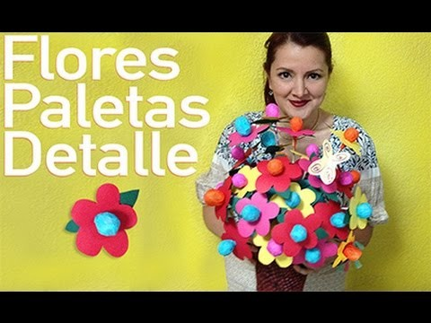 Chuladas Creativas :: Flores de Paletas :: Sammily