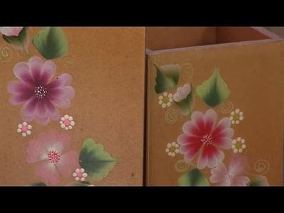 Como decorar una caja para lápices- Hogar Tv  por Juan Gonzalo Angel