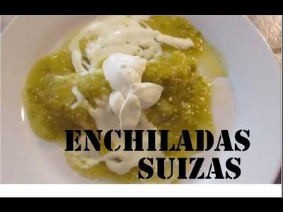 Como hacer enchiladas suizas receta fácilisima