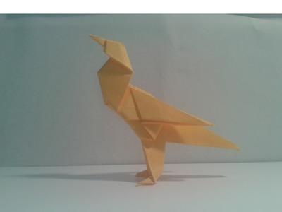 Como hacer un pájaro de origami (Twitter Bird)