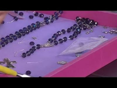 Como hacer un rosario rondela - Hogar Tv  por Juan Gonzalo Angel