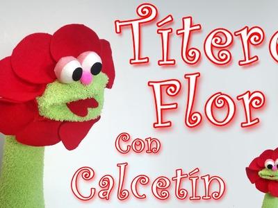 Como hacer un Titere Flor - Manualidades para todos - Flower Puppet