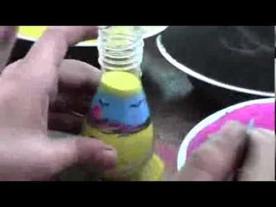 Diseño con arena de colores