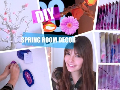 DIY: DECORA TU CUARTO PARA PRIMAVERA | SPRING ROOM DECOR