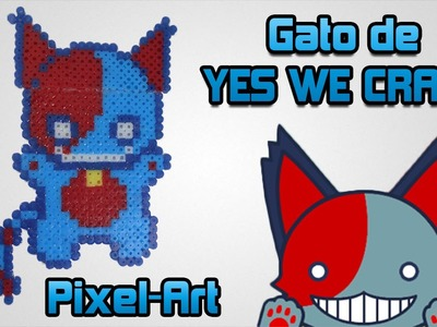 ✰ ESPECIAL ✰ Speed Pixel Art | Gato de Yes We Craft! (◕‿◕) | Perler Beads