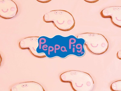 GALLETAS DE PEPPA PIG (SIN HORNO) - BAKING DAY