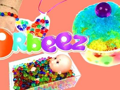 Juguete Orbeez o canicas de agua: experimentos y juegos #2