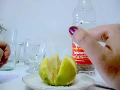 Limpia De Sal Vinagre Y Limon ( Para quitar malas energias)
