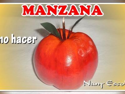 MANZANAS, CÓMO HACER PARA DECORACIÓN