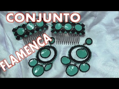 Pendientes y Peinetas de flamenca - EARRINGS AND FLEMISH  HAIR COMBS
