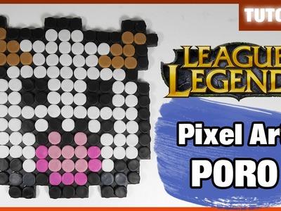 Pixel Art ✰ Poro Tutorial ✰ Polymer Clay ✰ Porcelana Fría (◕‿◕)