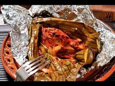 Pollo Pibil - Pibil Chicken