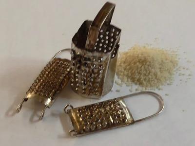 RALLADOR DE PAN EN MINIATURA - MINIATURE BREAD GRATER