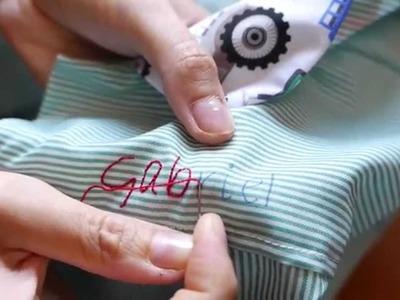 Técnica sencilla para hacer un bordado
