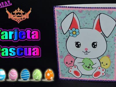 ♥ Tutorial: Tarjeta Pascua de Cartulina (MUY FÁCIL) ♥