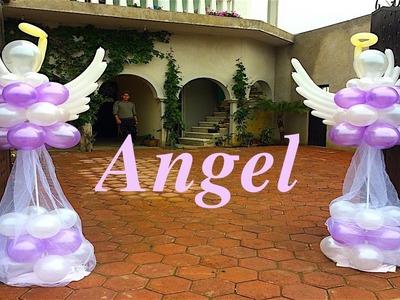 Columnas de ángel para bautizo