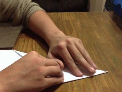 Cómo hacer un avión de papel - Figuras de manualidades