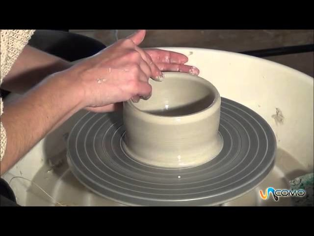 Cómo hacer un bol de arcilla - Curso cerámica