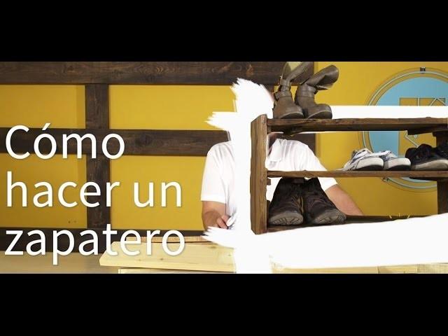 Como hacer un zapatero simple with como hacer un zapatero - Hacer zapatero original ...