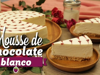¿Cómo preparar Mousse de Chocolate Blanco con Corazones de Zarzamora? - Cocina Fresca