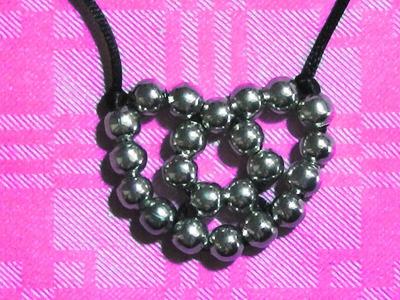 Corazones de cuentas 14 de febrero san valentin dia del amor y la amistad manualidades para regalar