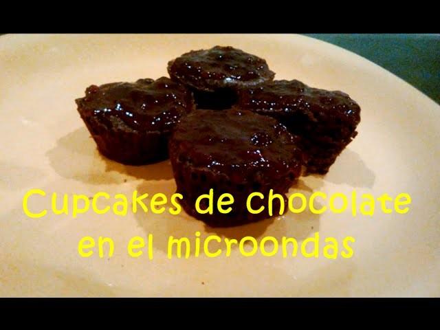 Cupcake de chocolate en microondas ☼