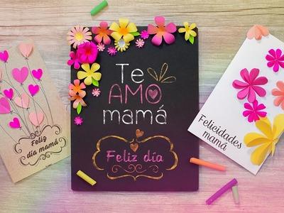DIY: Las tarjetas de felicitación mas lindas | ESPECIAL PARA MAMÁ ❤