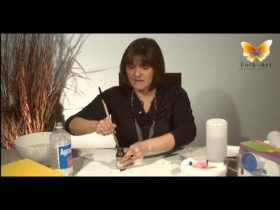 FOLK-ART MANUALIDADES Tips para el cuidado de tus pinceles