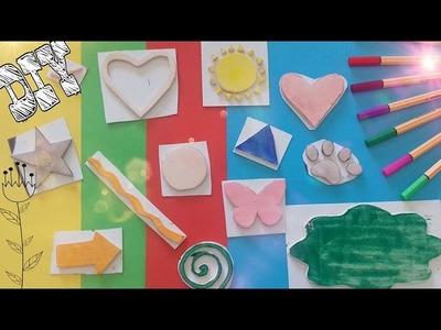Haz tus propios sellos facil DIY - Ingenio KD