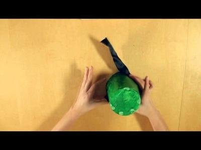 Manualidades St. Patrick - Sombrero de duende