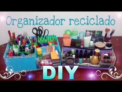 Organizador reciclado - Ingenio KD