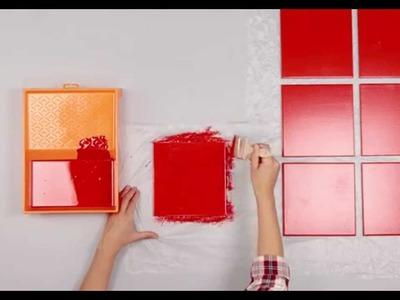 Pintar y colocar azulejos en el baño