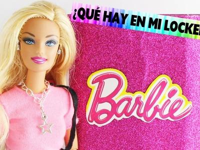 Que hay en mi Locker? - Video de las cosas que coloque en mi casillero  de Barbie
