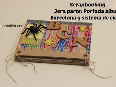 Scrap: 3era Parte Álbum Barcelona Portada y Sistema de Cierre