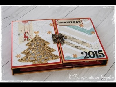 Tutorial album con subcarpetas -Diario Navidad