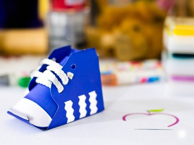 Tutorial día del padre:  caja de zapato deportivo para regalar. shoe box Father´s day DIY