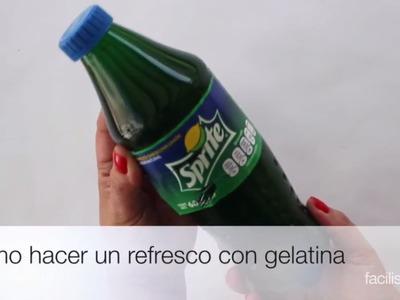 Cómo hacer un refresco con gelatina | facilisimo.com