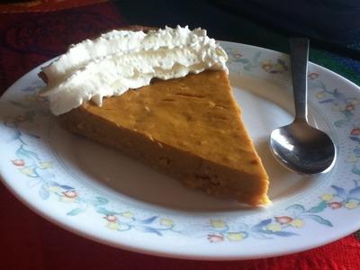 DIY  |   Receta Tarta de Calabaza |  Dia Acción de Gracias |  Pumpkin pie -  Foodinthebox - EEUU