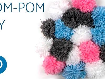 Pompones de lana para decorar tu habitacion DIY