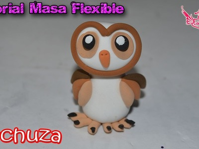 ♥ Tutorial: Lechuza en 3D de Masa Flexible ♥