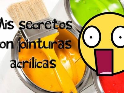 6 Tips de pinturas acrílicas, mis secretos.   | ArtGio