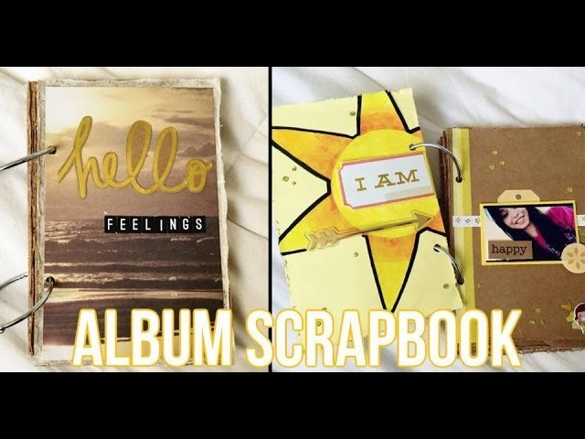 Album Scrapbook de Sentimientos ♥ HELLO FEELINGS ♥ Colaboracion con DULCE SCRAP ♥