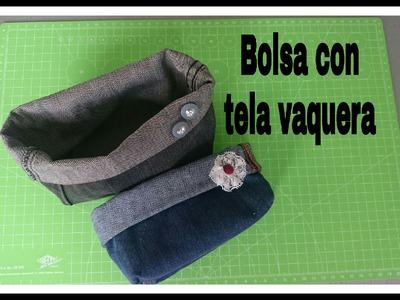 BOLSAS CON TELA VAQUERA | COSITAS DE RO