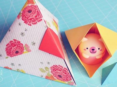 Caja Triangular ♥ [Origami] - Día de las Madres.Mother's day